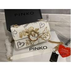 Стильная сумочка PinKo натуральная кожа  реплика 2207