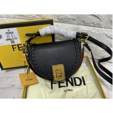 Стильная женская сумочка Fendi реплика натуральная кожа арт 2228