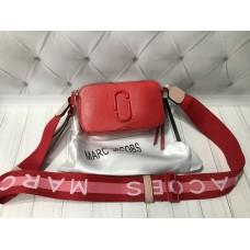 Хит продаж модная Сумочка Marc Jacobs натуральная кожа в красном цвете арт20500