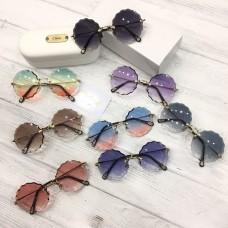 Стильные летние очки в круглой оправе арт 20490