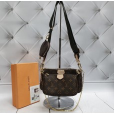 Сумочка 3 в 1 Louis Vuitton Multi Pochette bag Lux арт 203161