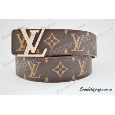 Ремень Louis Vuitton со стразами 0009