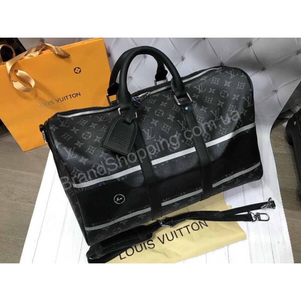 Спортивно - дорожная сумка Louis Vuitton реплика унисекс арт 20526