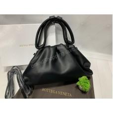 Сумочка Bottega Venetta  с ручками в черном цвете арт20409