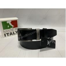 Ремень из натуральной кожи Giorgio Armani в подарочной упаковке арт 20413