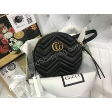 Сумочка круглая Gucci реплика натуральная кожа арт 20527