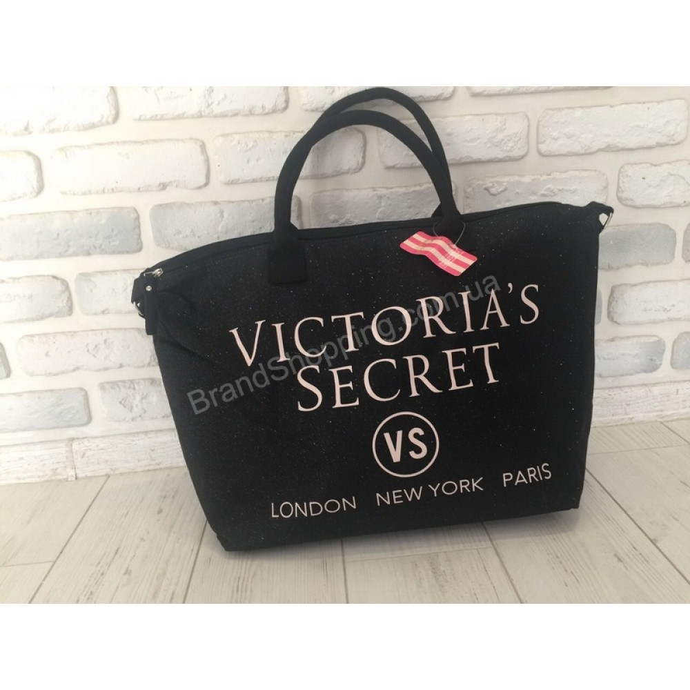 NEW!Сумка Victoria`s Secret  в черном цвете с мерцанием 1838