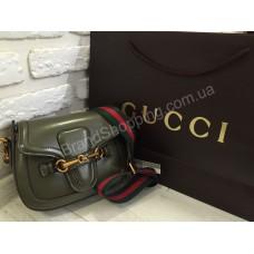 Женская кожаная сумка Gucci 0346s