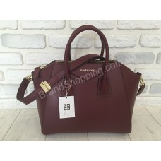 Женская кожаная сумка Givenchy 0355s марсал
