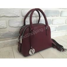 Женская кожаная сумочка 0363s марсал