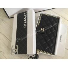 Кожаный кошелёк Chanel 0368s