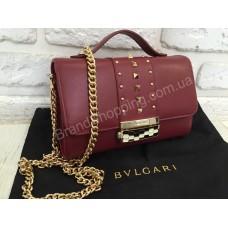 Женская кожаная сумочка Bvlgari 0369s