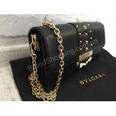 Сумка-клатч Bvlgari 0370s black