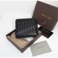 Мужской кожаный кошелек Bottega Veneta арт 21144