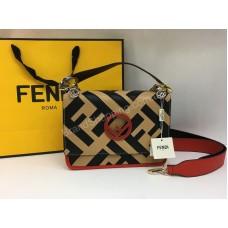 Женская сумочка Fendi Lux из натуральной кожи арт 20154