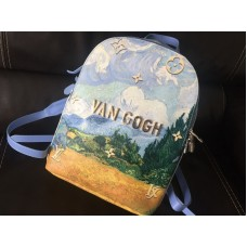 ХИТ!Шикарный кожаный рюкзак Louis Vuitton VAN GOGH Lux 1692