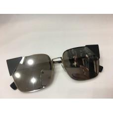 Солнцезащитные женские очки Fendi Lei серые 1256