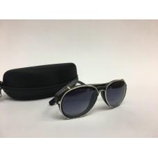Солнцезащитные очки авиаторы черные 1259