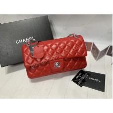 Сумка Chanel Classic в красном цвете арт 21158