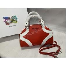 Сумка Prada в красном цвете арт 21157