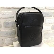 Кожаная мужская сумка Gucci 0405