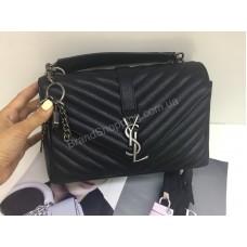 Женская сумка YSL Yves Saint Laurent натуральная кожа арт 21175