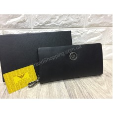 Кошелек -портмоне Armani из кожи в подарочной упаковке арт 20239