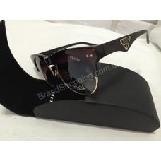Солнцезащитные очки Prada Lux  коричневые 326O