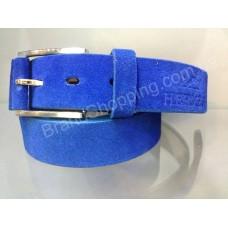 Замшевый кожаный ремень Hermes 0563 ширина 3,5см мужской/женский