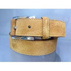 Замшевый кожаный ремень 0565 ширина 3,5см мужской/женский