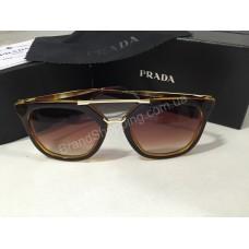 Солнцезащитные очки Prada коричневые OPR13QSA