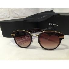 Солнцезащитные очки Prada коричневые 1620O