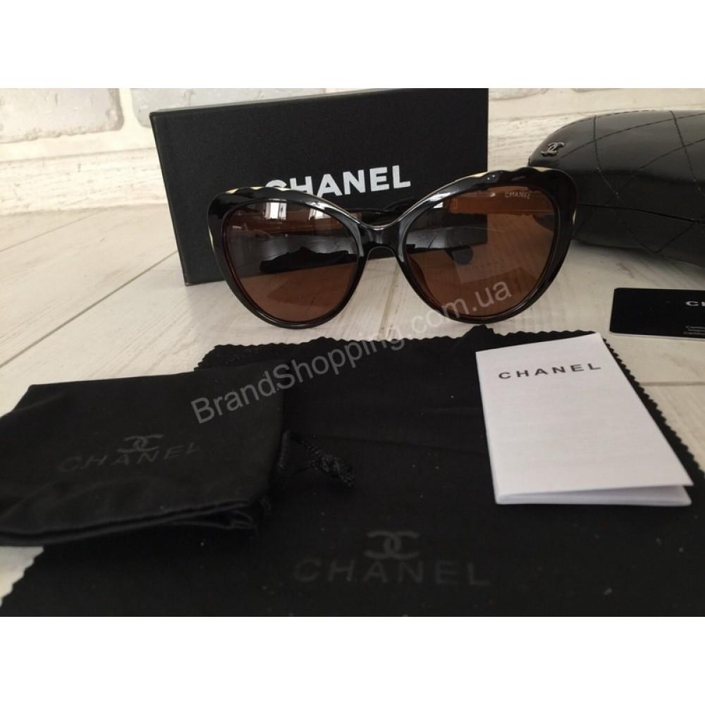 NEW 2018!Женские солнцезащитные очки Chanel Lux 1729