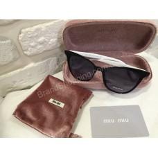 Солнцезащитные очки MIU MIU Lux с белыми дужками 2407O