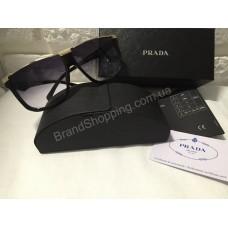Солнцезащитные очки Prada Lux черные 1511O