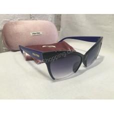 Солнцезащитные очки MIU MIU с синими дужками 8538Os