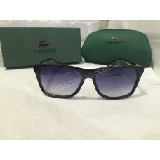 Солнцезащитные очки Lacoste Lux с золотыми дужками 721C