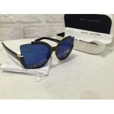 Солнцезащитные очки Marc Jacobs зеркальные синие стекла s9197O