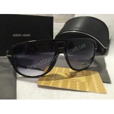 Солнцезащитные очки Giorgio Armani  Lux черные  G8394