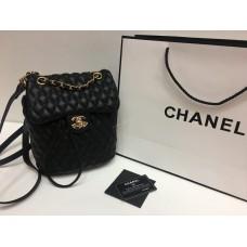 Женский кожаный рюкзак-сумка Chanel  0445