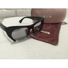 Солнцезащитные очки MIU MIU зеркальные 9126O