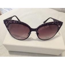 Солнцезащитные очки Gucci женские кружево фиолет G980
