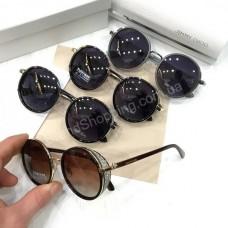 Круглые очки Jimmy Choo в полном комплекте арт 20550