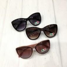 Женские очки Luoweite черные коричневые арт 21197