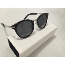 Солнцезащитные очки Dior silver чёрные S8499