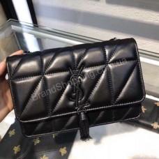NEW Сумочка YSL из натуральной кожи в полном люкс комплекте в черном цвете арт 20209L