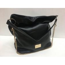 Женская кожаная сумка New Style Black 0115s