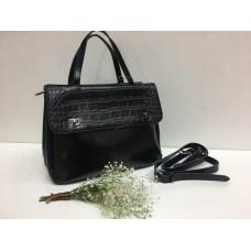 Женская кожаная сумка Vogue 0249s black