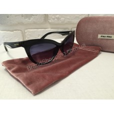 Солнцезащитные очки MIU MIU Lux чёрные 0133