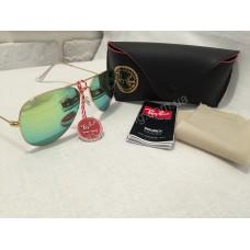 Солнцезащитные очки Ray Ban Aviator  оправа Gold 01493